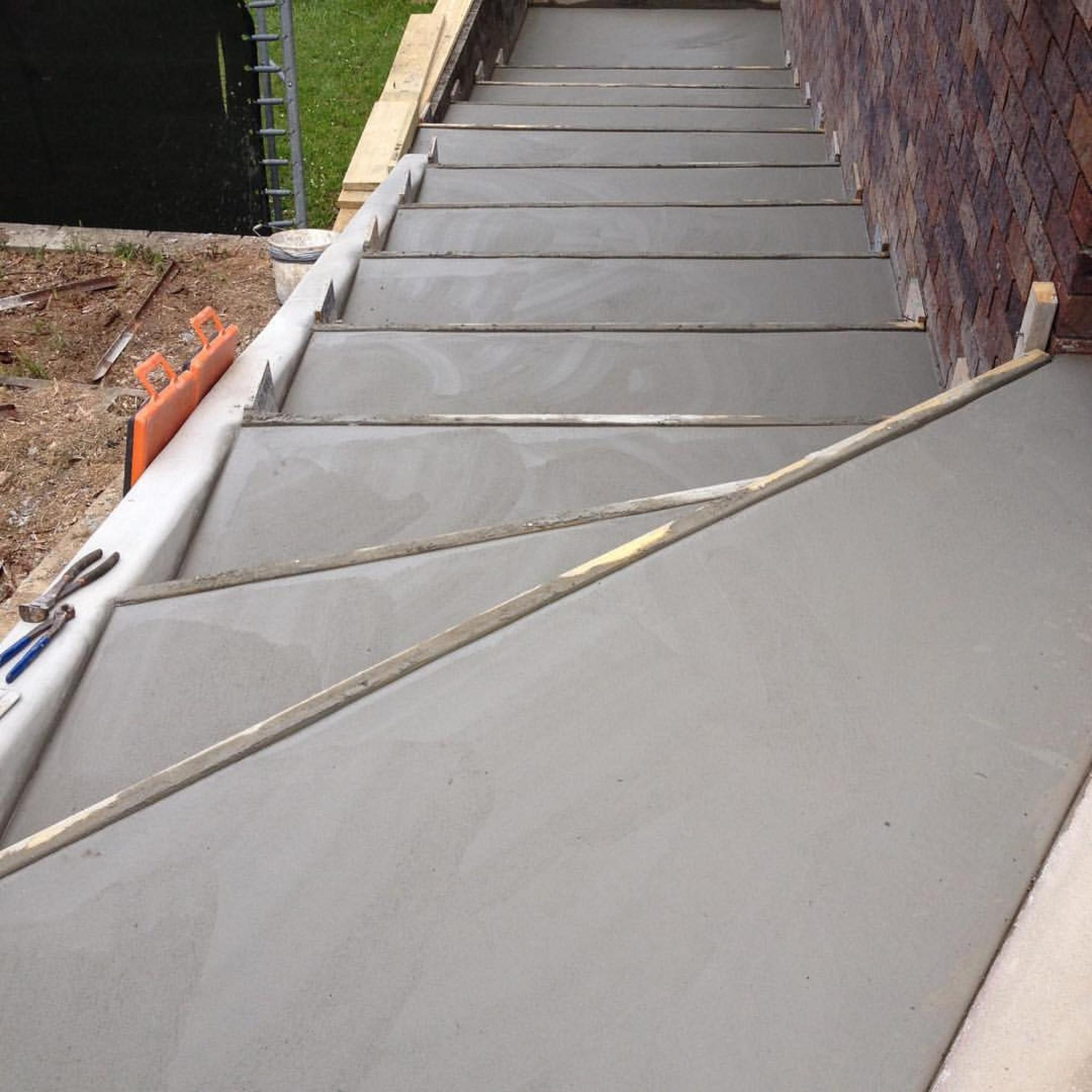 Gallery Concrete Stairs City Link Concrete Construction