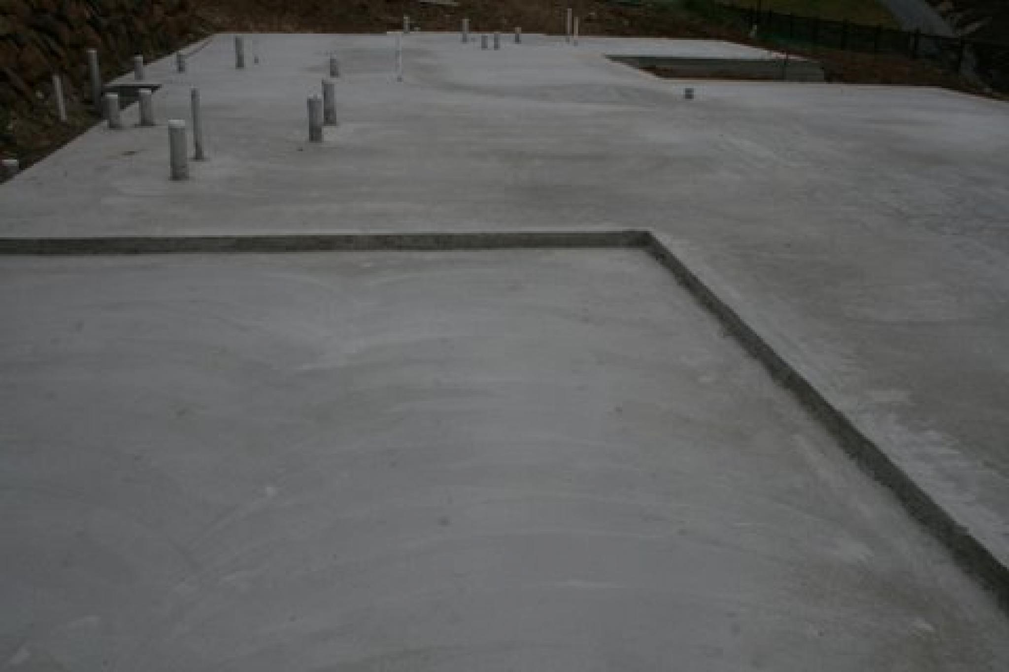 Gallery footings and slabs city link concrete construction for Slab homes